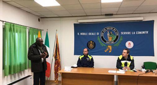 La comunità senegalese dona 600 euro alla Protezione civile di Conegliano
