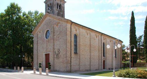 la chiesa di Meduna di Livenza