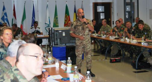 A Motta la nona Cimic Unit Commanders Conference