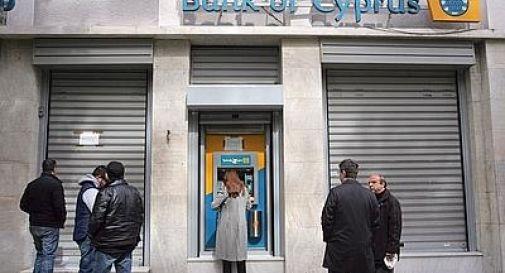 Cipro, ok della 'troika' al prelievo sui conti