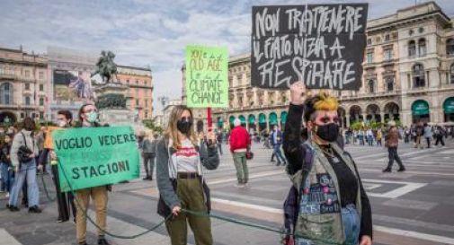 Clima, Fridays For Future in piazza: in più di 100 città scioperi e presidi