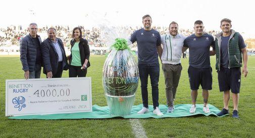 Leoni, quattromila euro per la Pediatria di Treviso