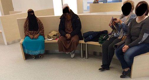 In ospedale col niqab, paura e polemica a Conegliano