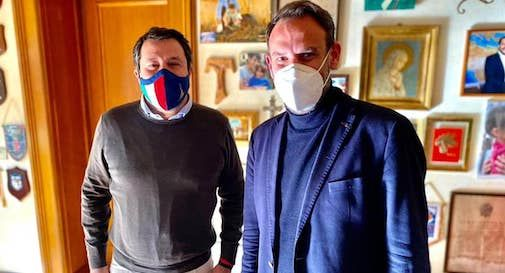 Mario Conte, Matteo Salvini