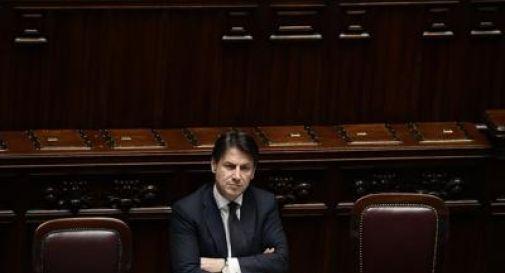 Conte parla alla Camera: Fdi assente, Lega abbandona l'Aula