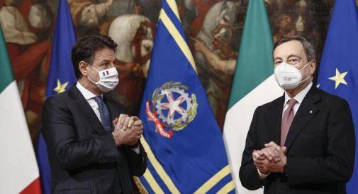 Conte vede Draghi: