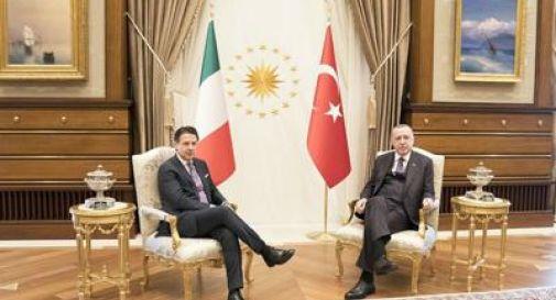 Giuseppe Conte, Erdogan