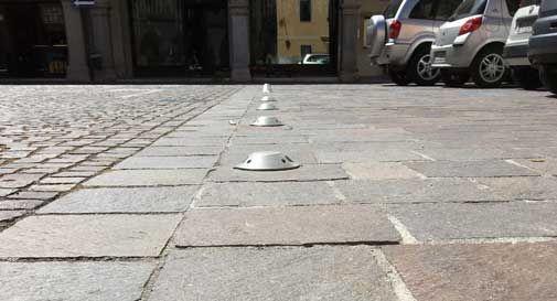 Si ruppe il viso inciampando in piazza Vecellio, arriva l'interrogazione al sindaco