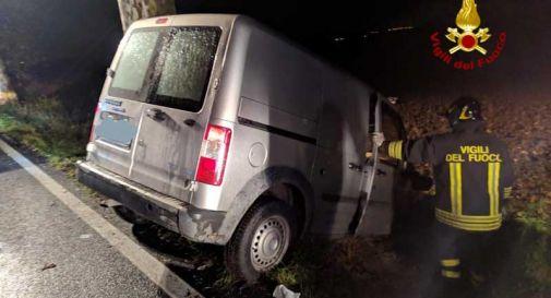 Due incidenti stradali nella notte: il bilancio è di 4 feriti