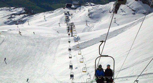 Sciatrice morta a Cortina