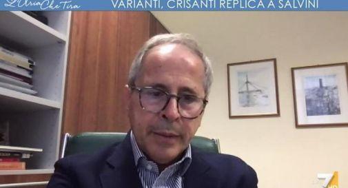 Vaccino covid e varianti, Crisanti: