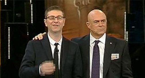 Sanremo: contestato Crozza-Berlusconi