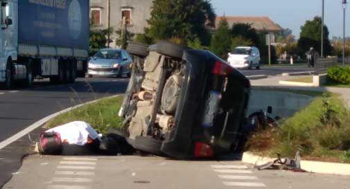 Tragedia a Salgareda, perde la vita in un incidente stradale