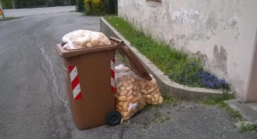 I profughi e lo spreco di pane, in città infuria la polemica
