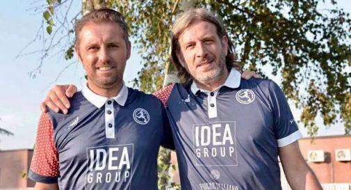 da sinistra Marco Panero e Fabio Mazzer