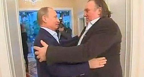 Depardieu cittadino russo