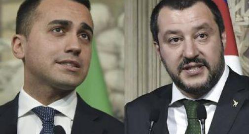 Tensione tra Di Maio e Salvini