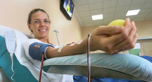 Avis, Treviso prima in Veneto per donatori di sangue