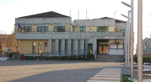 il municipio di Casier a Dosson