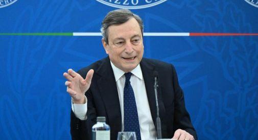 Zona rossa, scuola, vaccini: le parole di Draghi