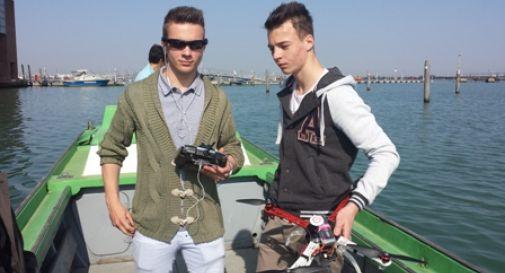 Il drone per i selfie e quello per la tv le ultime dall ipsia oggi treviso news il - Giardini del sole castelfranco ...