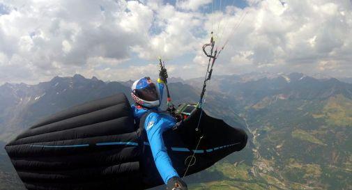 Volo in parapendio, Durogati sfiora il record