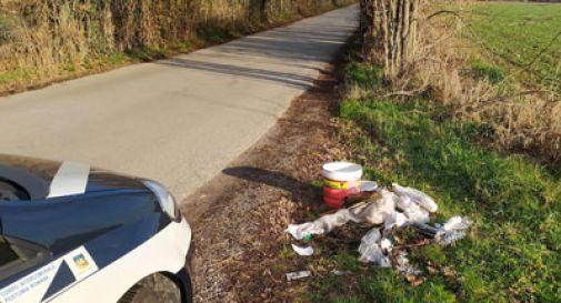 Abbandona i rifiuti con dentro i documenti: acciuffato l'ecovandalo di Villorba