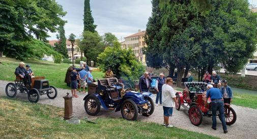 Auto storiche a Castelfranco