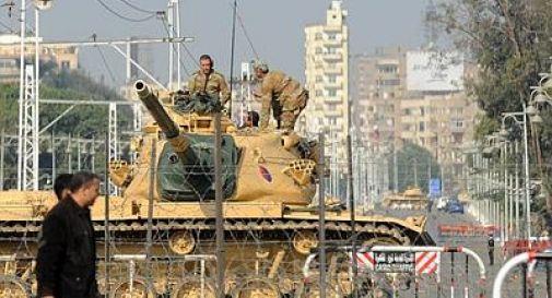 Egitto, golpe dei militari