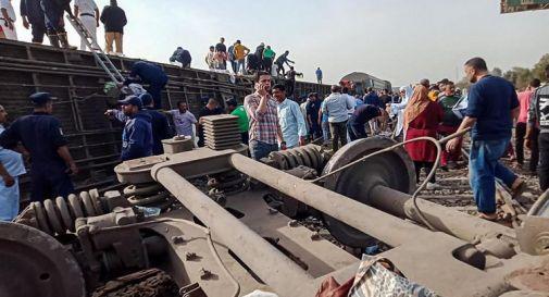 Egitto, quasi 100 feriti in incidente ferroviario