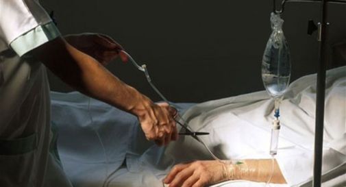 Malato di distrofia muscolare: