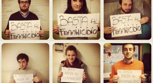 Femminicidio: gli studenti ci mettono la faccia