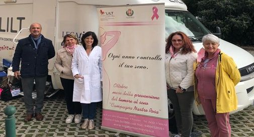 Campagna di prevenzione promossa dall'associazione Lilt Treviso