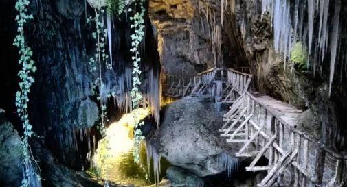Vietate le ciabatte infradito e i tacchi alle grotte del Caglieron