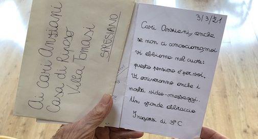 messaggio anziani villa Tomasi