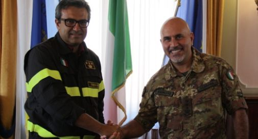 Sicurezza, nuovo Protocollo d'intesa tra Vigili del Fuoco ed Esercito