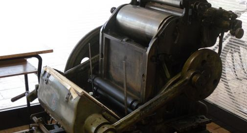 A Cornuda le macchine tipografiche di Ponte di Piave