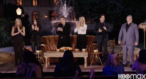 Friends, la reunion: il retroscena di Ross e Rachel, quasi coppia vera