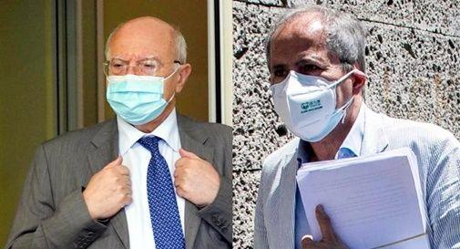 Massimo Galli e Andrea Crisanti