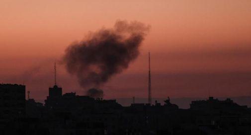 Gaza, razzi di Hamas contro basi Aeronautica Israele