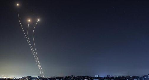 Razzi israeliani su Gaza