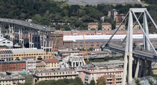 Ponte Morandi, inizia la demolizione