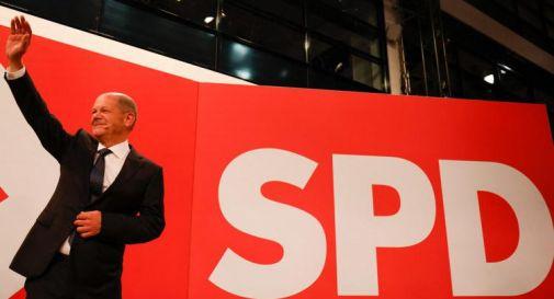 Elezioni Germania, Spd vince con il 25,7%