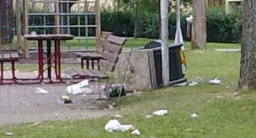 Incastrati i baby-vandali che rovinano le aree pubbliche
