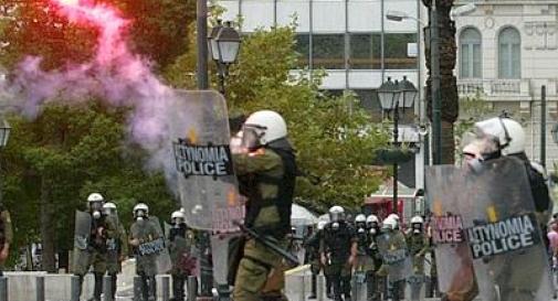 Grecia nel caos