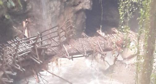 Grotte del Caglieron dopo il maltempo del 6 dicembre
