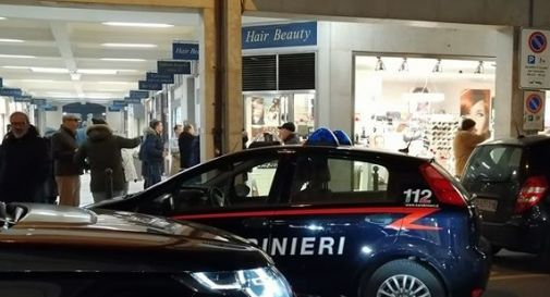 Carabinieri ieri sera in via Zara