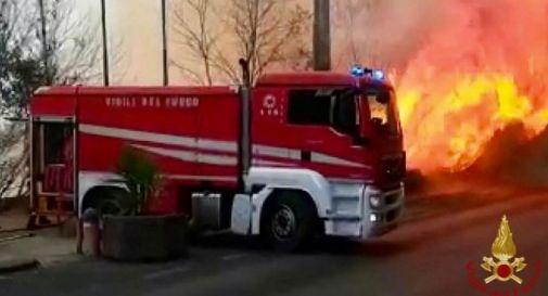 incendi a Catania