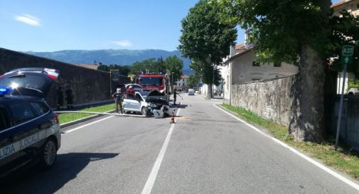 Incidente via Caviglia