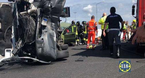 Schianto in A4, morti due militari e un terzo grave